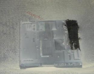 laptop battery explosion